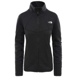 בגדי חורף דה נורת פיס לנשים The North Face Inlux Wool FZ Jacket - שחור