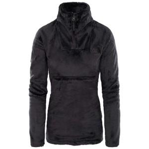 בגדי חורף דה נורת פיס לנשים The North Face Osito Sport Hybrid 1/4 Zip - שחור