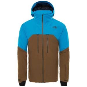 בגדי חורף דה נורת פיס לגברים The North Face Powder Guide Jacket - חוםכחול