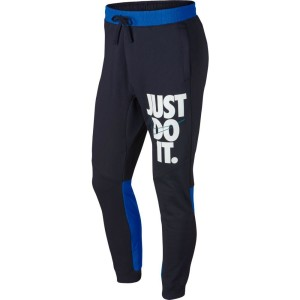 ביגוד נייק לגברים Nike Sportswear Just Do It HBR Jogger - כחול