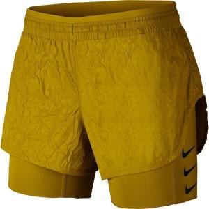 ביגוד נייק לנשים Nike Elevate 2 In 1 - צהוב