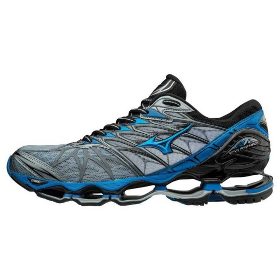 נעליים מיזונו לגברים Mizuno Wave Prophecy 7 - אפור/כחול