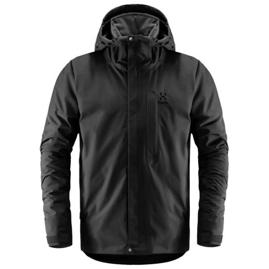 בגדי חורף הגלופס לגברים Haglofs Stratus - שחור