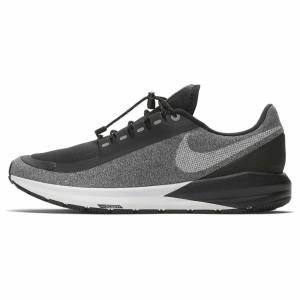 נעלי הליכה נייק לנשים Nike Air Zoom Structure 22 RN Shield - שחור/אפור