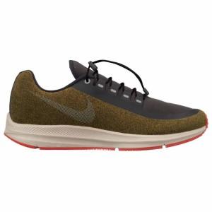 נעליים נייק לגברים Nike Zoom Winflo 5 Run Shield - אפור/כתום