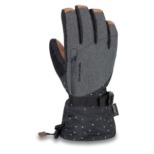 אביזרי ביגוד דקיין לנשים Dakine  Leather Sequoia Goretex - שחור/אפור