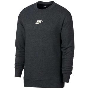 ביגוד נייק לגברים Nike Sportswear Heritage Crew - אפור כהה