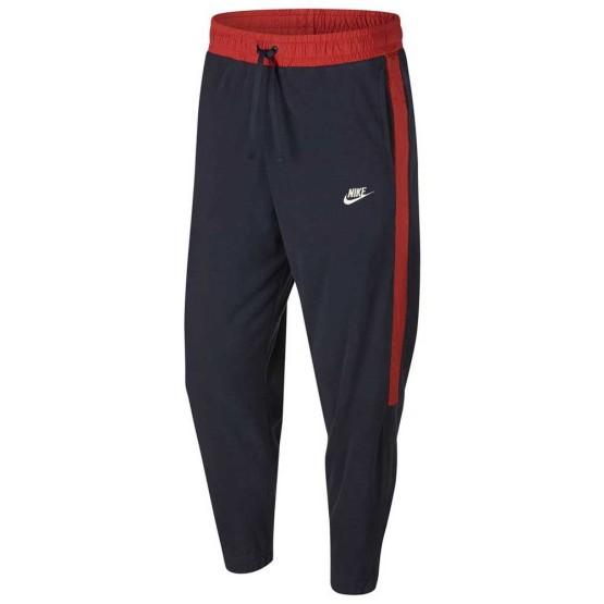 ביגוד נייק לגברים Nike Sportswear Core Winter SNL Cuffed - כחול/אדום