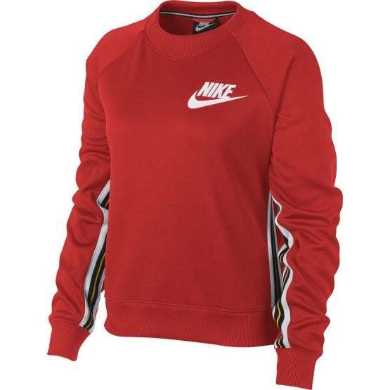 ביגוד נייק לנשים Nike Sportswear Crew - אדום