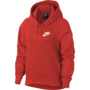 ביגוד נייק לנשים Nike Sportswear AV15 Hoody - כתום
