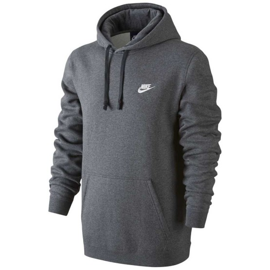 ביגוד נייק לגברים Nike Sportswear Club Hoody - אפור