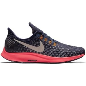 נעלי הליכה נייק לנשים Nike Air Zoom Pegasus 35 - שחור/כסף