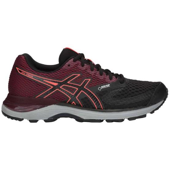 נעליים אסיקס לנשים Asics Gel Pulse 10 Goretex - שחור/אדום