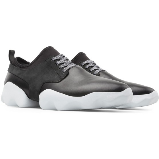 נעליים קמפר לגברים Camper Dub - שחור/לבן