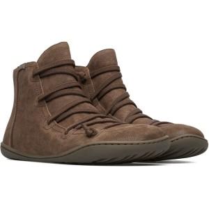 נעלי נוחות קמפר לנשים Camper Peu - חום