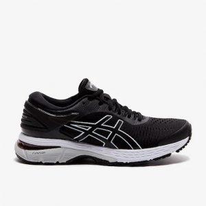 נעלי ריצה אסיקס לנשים Asics Gel Kayano 25 - שחור/לבן