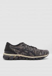 נעלי ריצה אסיקס לגברים Asics Gel Quantum 360 Knit 2 - שחור/צהוב