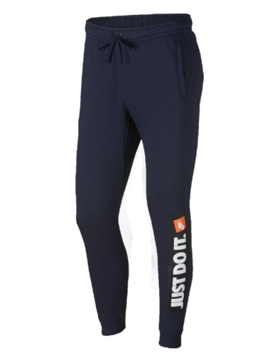 ביגוד נייק לגברים Nike Sportswear HBR Jogger - כחול כהה