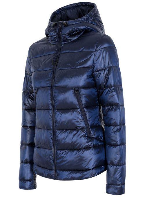 בגדי חורף פור אף לנשים 4F KUD004 - כחול