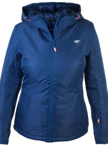 בגדי חורף פור אף לנשים 4F KUDN301 - כחול