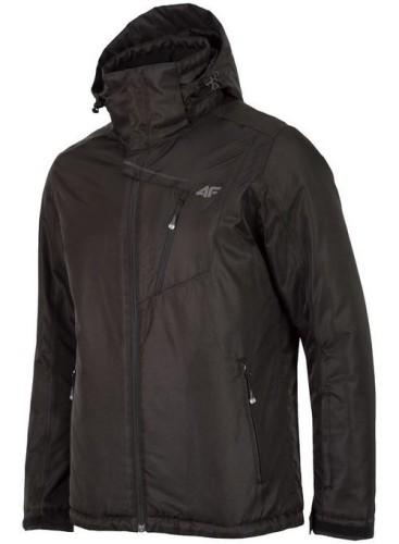 בגדי חורף פור אף לגברים 4F KUMN253 - שחור