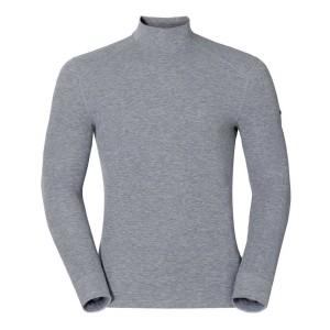 ביגוד אודלו לגברים Odlo Shirt L/S Turtle Neck Warm - אפור