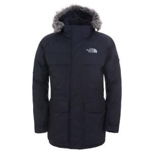 בגדי חורף דה נורת פיס לגברים The North Face McMurdo Parka - שחור