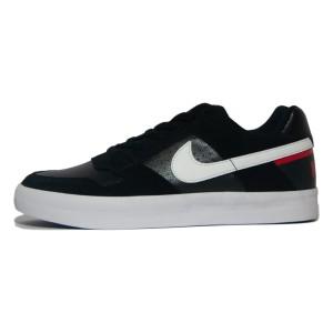 נעליים נייק לגברים Nike SB Delta Force Vulc - שחור/אדום