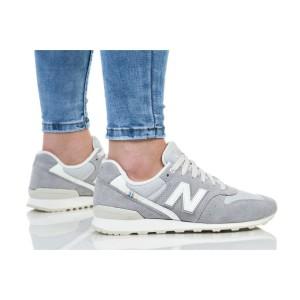 נעליים ניו באלאנס לנשים New Balance WR996 - אפור/לבן