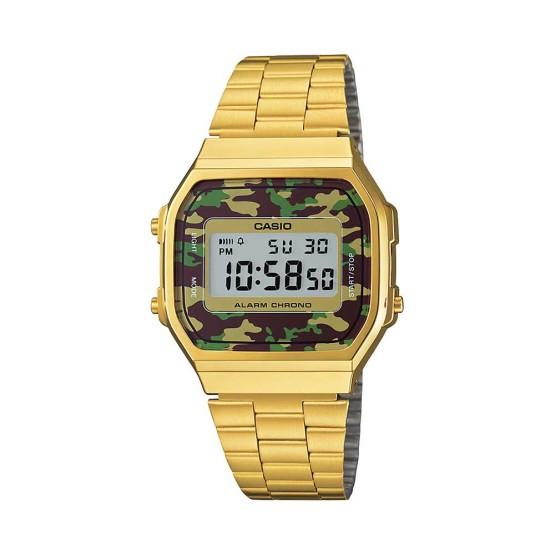 שעון קסיו לגברים CASIO A168WEGC_3 - זהב