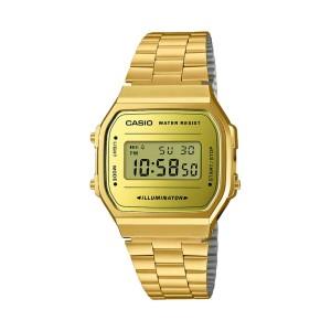 אביזרים קסיו לנשים CASIO A168WEGM_9D - זהב