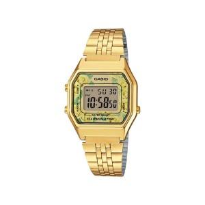 שעון קסיו לנשים CASIO LA_680WGA - צהוב