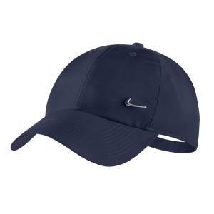 כובע נייק לגברים Nike METAL SWOOSH - כחול כהה