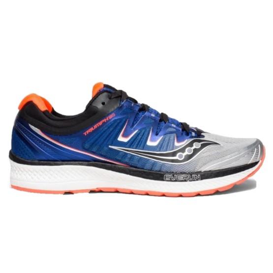נעליים סאקוני לגברים Saucony TRIUMPH ISO 4 - כחול/כתום
