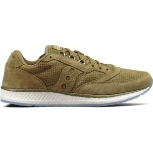 נעליים סאקוני לגברים Saucony Freedom Runner - ירוק