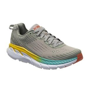 נעליים הוקה לנשים Hoka One One Clifrton 5 WIDE - אפור