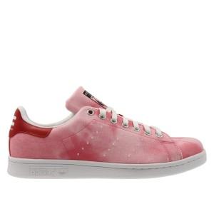 נעליים אדידס לגברים Adidas Pharrell Williams HU Holi Stan Smith - ורוד/אדום