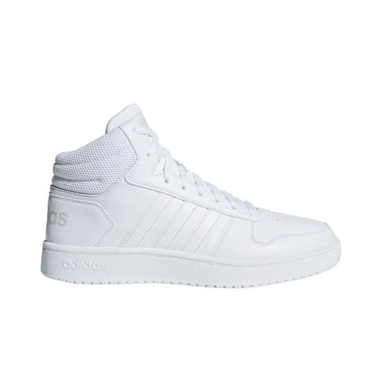נעליים אדידס לנשים Adidas Hoops 20 Mid - לבן