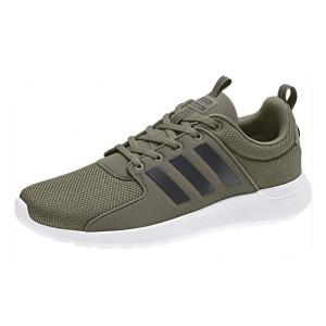 נעליים אדידס לגברים Adidas Neo Cloudfoam CF Lite Racer - חאקי