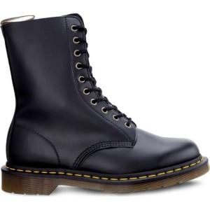 מגפיים דר מרטינס  לנשים DR Martens VEGAN 1490 FELIX RUB OFF BLACK - שחור