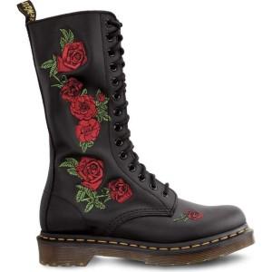 מגפיים דר מרטינס  לנשים DR Martens Vonda Black DM12761001 - שחור פרחוני