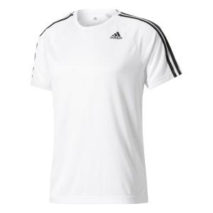ביגוד אדידס לגברים Adidas  Design 2 Move 3 Stripes - לבן