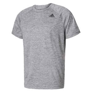 ביגוד אדידס לגברים Adidas  Design 2 Move Heather - אפור