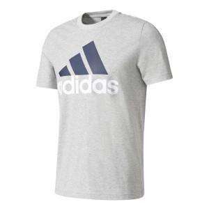 ביגוד אדידס לגברים Adidas  Essential Linear - אפור
