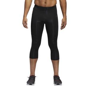 ביגוד אדידס לגברים Adidas  Response 3/4 - שחור