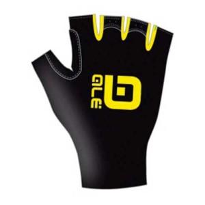 ביגוד אליי לגברים Ale  Chrono Gloves - צהוב