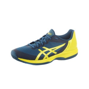נעלי אימון אסיקס לגברים Asics  Gelcourt Speed Clay 4589 - כחול/צהוב