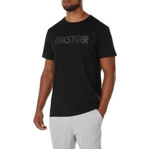ביגוד אסיקס לגברים Asics  Logo Tee - שחור