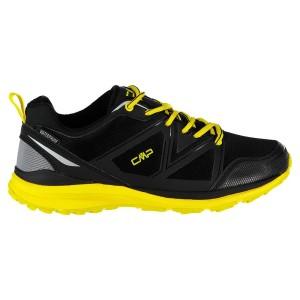 נעלי ריצה סמפ לגברים CMP Alya Trail WP - שחור/צהוב