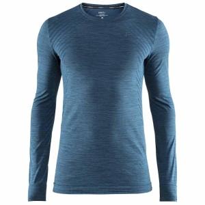 ביגוד Craft לגברים Craft  Fuseknit Comfort Rn L/S - כחול